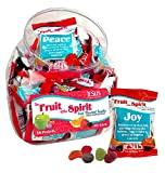 Scripture Candy 118284 Candy Fruit Of The Spirit Gummy Fruit Snack Counter Jar