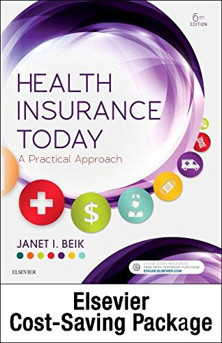 Health Insurance Today   Text  Workbook And Virtual Medical Office Package  6E