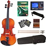 Cecilio-CVN-300-Ebony-Fitted-Solid-Wood-Violin-with-Tuner-and-Lesson-Book-Size-14
