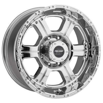 Pro Comp Alloys Series 89 Wheel with polished-aluminum (17 x 8. inches /8 x 6 inches, 0 mm Offset