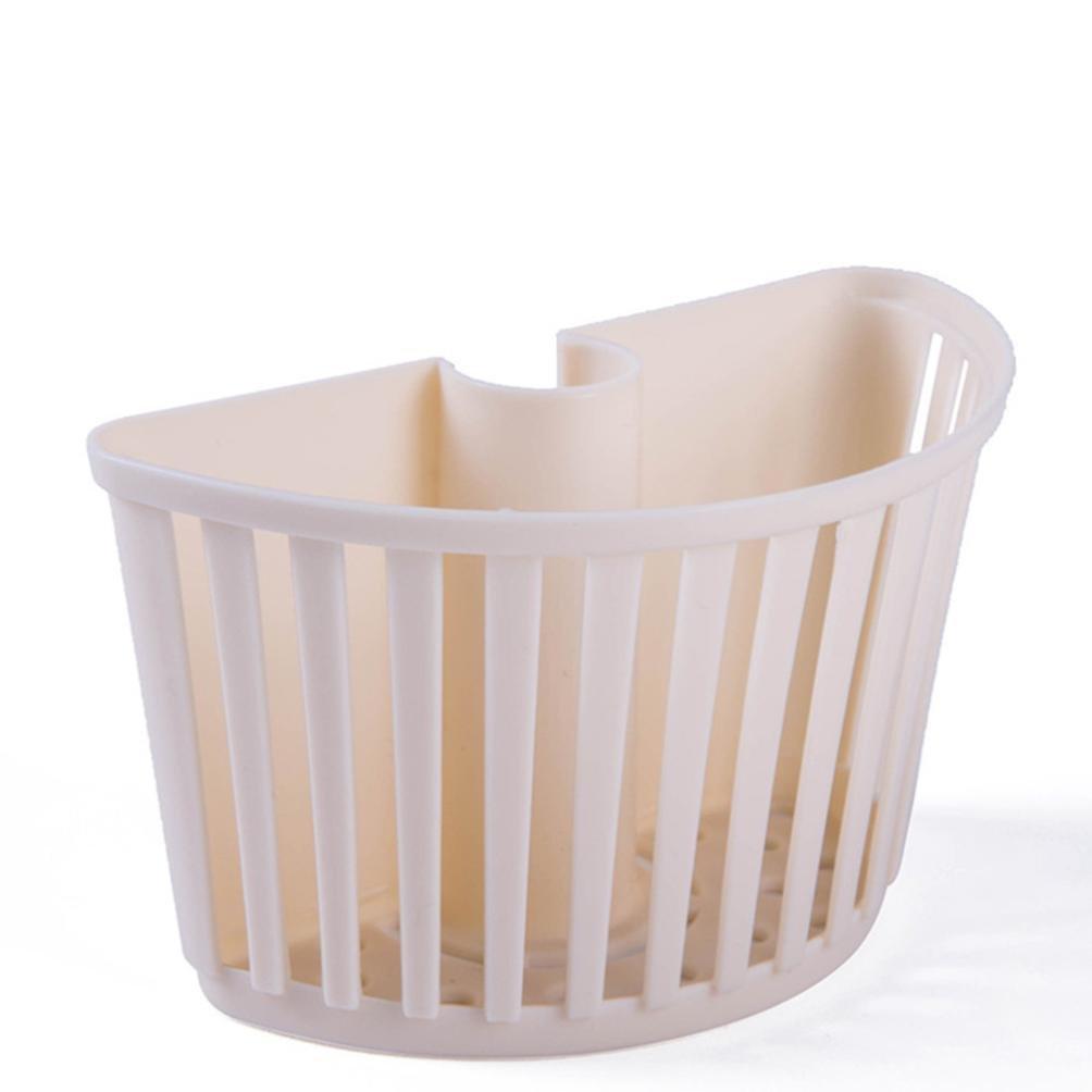 Sensail Éponge d'évier de Cuisine de Support pour Cuisine à la Maison (Beige)
