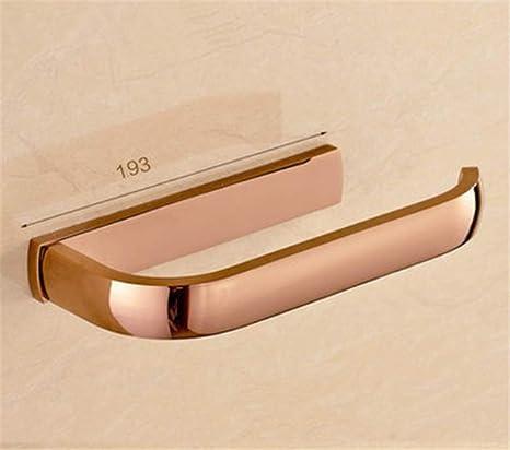 KIEYY De Estilo Europeo, Toalla De Baño Estante De Metal Del Cobre Colgante De Oro