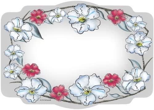 Wild Rose Paper Placemats 50 Per Pack
