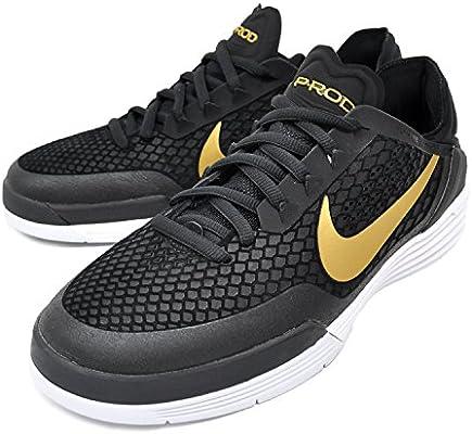 on sale 03b60 43556 Nike SB Paul Rodriguez 8 Hombre Zapatillas 703202 – 007 Negro/de Color  Dorado Metálico (9,5 para Hombre)
