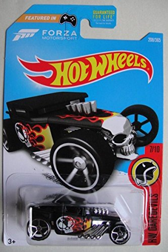Hot Wheels 2017 HW Daredevils Forza Motorsport Bone Shaker 208/365, Black