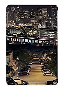 New Arrival Cityscapes Lights Buildings For Ipad Mini/mini 2 Case Cover Pattern For Gifts