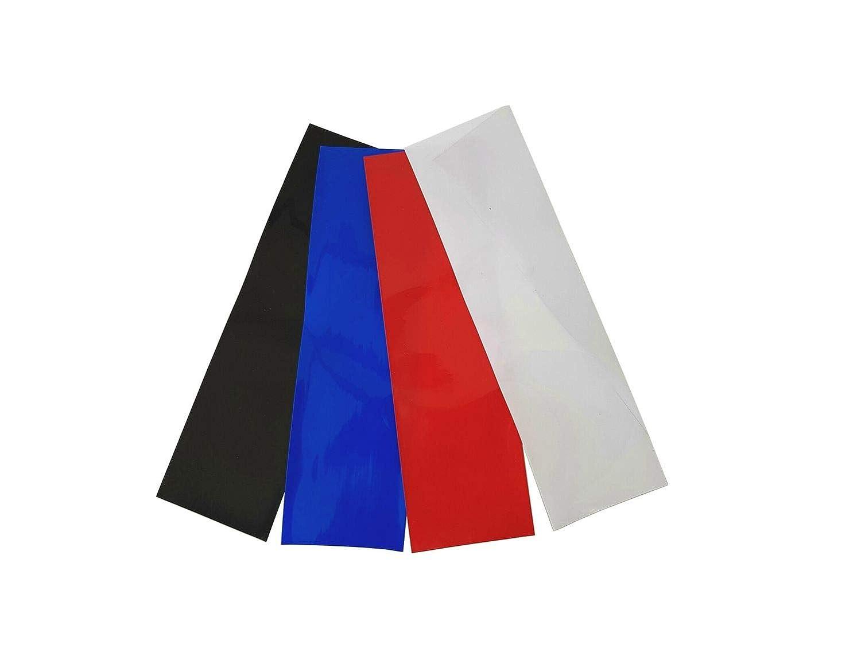 netproshop Akku Schrumpfschlauch 40mm Flachmaß = 25mm Durchmesser (4 Meter), Farbe:schwarz