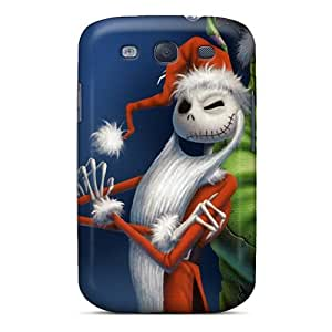 Samsung Galaxy S3 FPK14818zrvD Provide Private Custom Nice Nightmare Before Christmas Image Shock Absorption Hard Cell-phone Case -DannyLCHEUNG