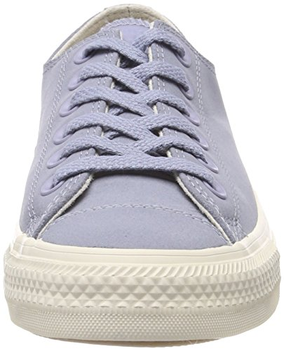Converse Unisex Kids' Chuck Taylor CTAS Ox Leather Fitness Shoes, Grey (Glacier Grey/Driftwood 552), 3.5 UK