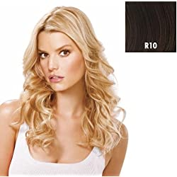 Hairdo 16 inch Fineline Tru2Life Styleable Synthetic Extensions R10 Chestnut