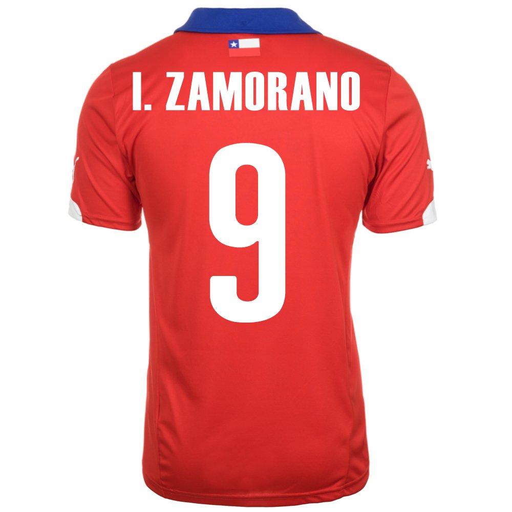 Puma I. Zamorano #9 Chile Home Jersey World Cup 2014/サッカーユニフォーム チリ ホーム用 ワールドカップ2014 背番号9 I.サモラーノ B00KAI6M862XL