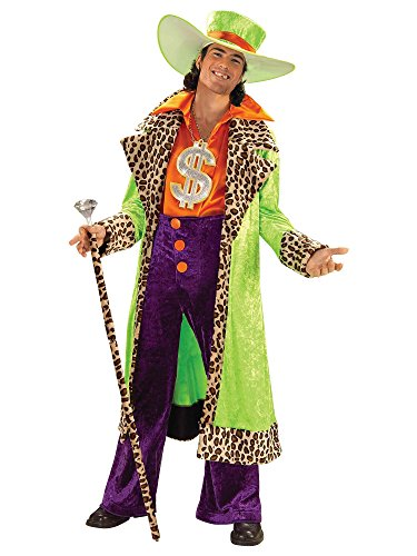 Forum Novelties Men's Big Daddy Pimp Costume, Multicolor, Standard]()