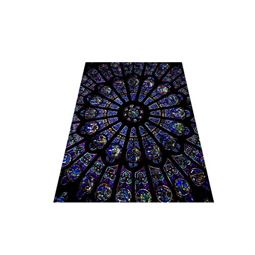 OrchidAmor Rose Window Cathedral Paris Photo Print Sticker Decorative Painting Notre]()