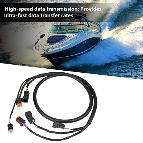 AMZVASO - Motor Cable Wiring Harness for OMC Johnson Evinrude Outboard accesorios automovil araba aksesuar Car Accessories 176333 Black