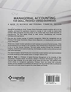 Managerial Accounting for Small, Privately Owned Businesses by Cognella Academic Publishing