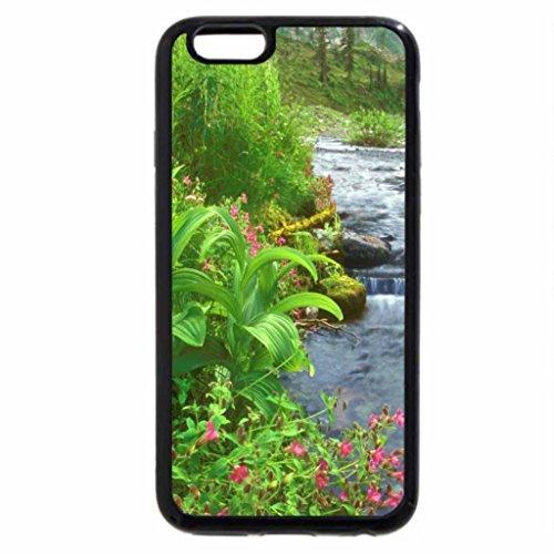 iPhone 6S / iPhone 6 Case (Black) Bagley Creek, Mount Baker