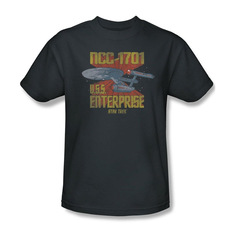 Star Trek - Mens Ncc1701 T-Shirt In Charcoal