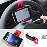 Drhob 1PC Universal Car Phone Holder , Car Steering Wheel Phone Holder Bicycle Mobile Stand Suporte Para Celulart Suporte Celular
