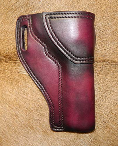 Gary C's Leather OWB Avenger RH Leather Holster for the S&W K Frame 6