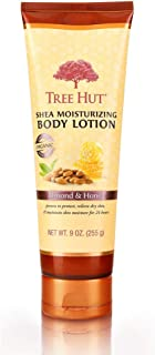 product image for Tree Hut Shea Moisturizing Body Lotion Almond & Honey, 9oz, Ultra Hydrating Body Lotion for Nourishing Essential Body Care (Pack of 2)