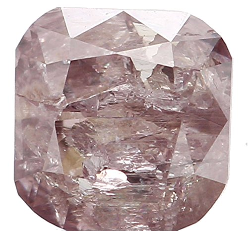 Natural Loose Diamonds Cushion Brown Pink Color i2 3.60 MM 0.26 Ct L1628 ()
