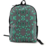 Cananhjs Cactus Charcoal Cacti Southwest Desert Cute Girls/Boys Backpack School College Laptop Bags Outdoor Daypack