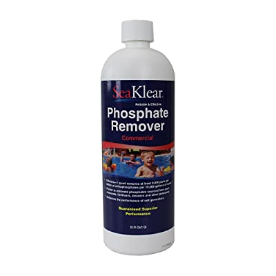 SeaKlear 90207 Halo Source 1040105 Commercial Strength Phosphate Remover Quart Bottle Spa Accessories : Swimming Pool Stain Removers : Garden & Outdoor