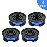 POSUGEAR String Trimmer Line for Ryobi, 0.065'' Line Trimmer Replacement Spools Autofeed for Ryobi 18V, 24V, and 40V Cordless Trimmers,4 Pack