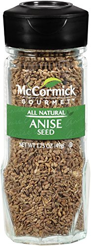 McCormick Gourmet Collection Anise Seed, 1.75 oz (Biscotti Seed Anise)