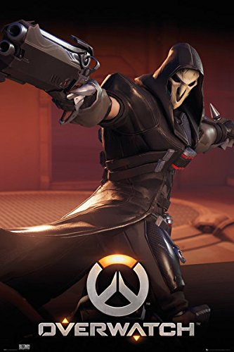 POSTER STOP ONLINE Overwatch - Gaming Poster/Print (Reaper) (Size: 24