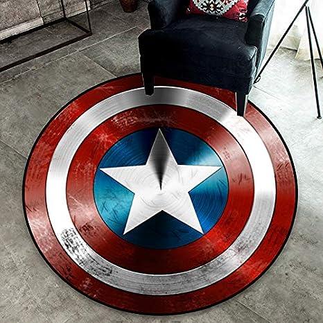Mianbao Capitán América Escudo Alfombra Avengers Alliance ...