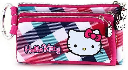 Hello Kitty 593 - Estuche de lápices con 3 Cremalleras: Amazon.es: Equipaje