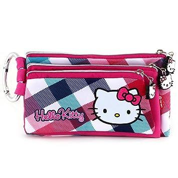 Hello Kitty 593 - Estuche de lápices con 3 cremalleras ...