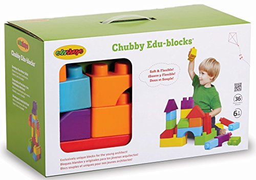 Edushape Chubby Edu-blocks, 36 Piece by Edushape