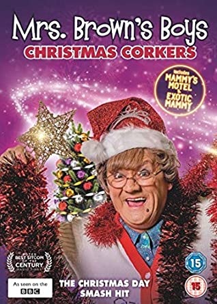 Christmas Specials 2019.Mrs Brown S Boys Christmas Corkers Dvd 2019 Amazon Co