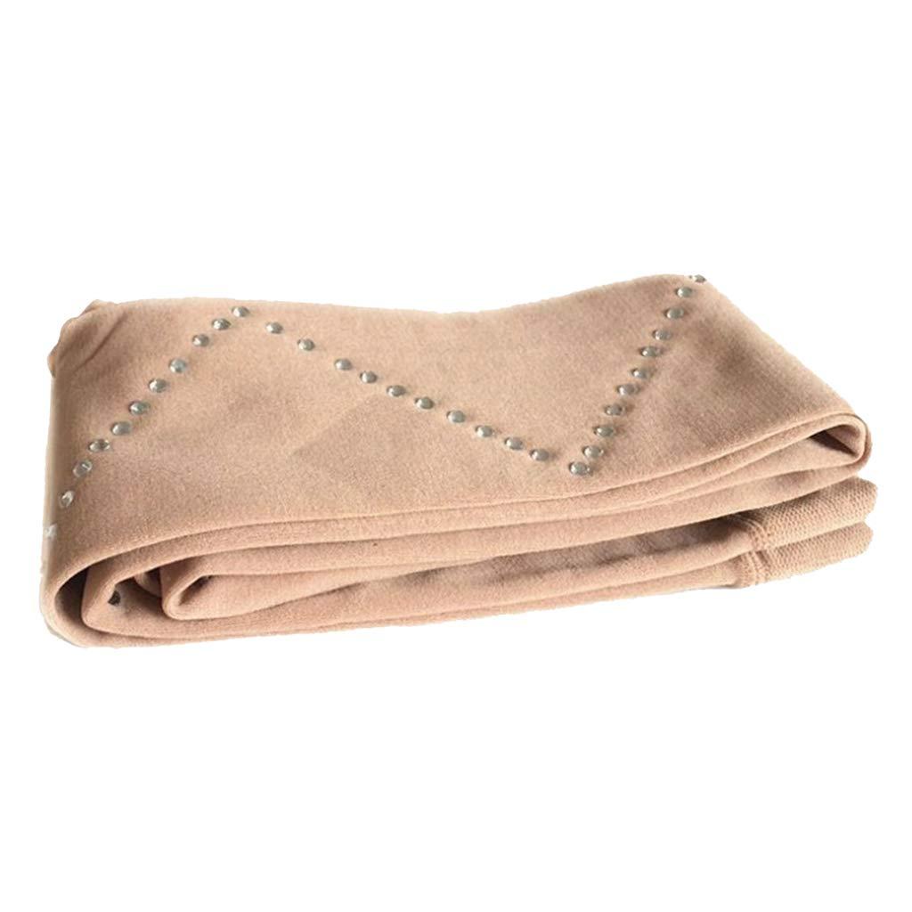 perfeclan M/ädchen Eislaufen Strumpfhose /über Stiefel Schlittschuhhose