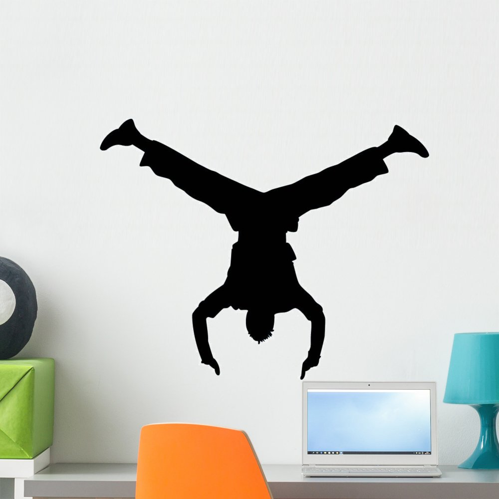 Wallmonkeys WM339565 Freestyle Dance Wall Decal Peel and Stick Graphic (24 in W x 19 in H)