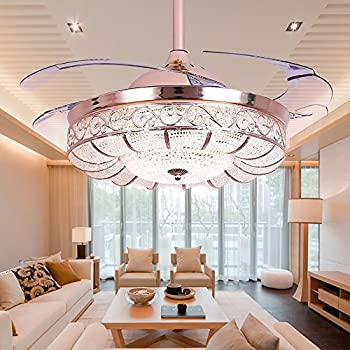 Tipton light ceiling fans 42 inch 4 retractable blades led ceiling huston fan modern ceiling fan light 42 inch brushed nickel ceiling fan with remote control mozeypictures Choice Image