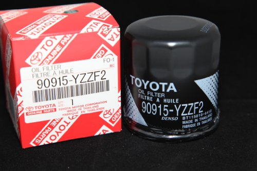 Parts 1995 Celica Toyota (Toyota Genuine Parts 90915-YZZF2 Oil Filter 1 Case (QTY 10))