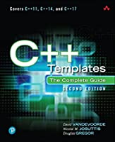C++ Templates: The Complete Guide, 2nd Edition Front Cover