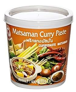 Cock Brand Pasta de Curry Matsaman -1Paquete de 400 gr
