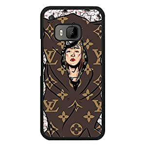 Funny Lady Wrapped Style Louis Top Vuitton Phone Case Pop Snap-On Cover For Htc One M9