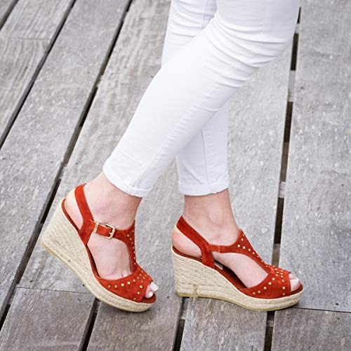 Donna sandali Kanna sandali Kanna Sabot Sabot Arancione Donna 748pvn