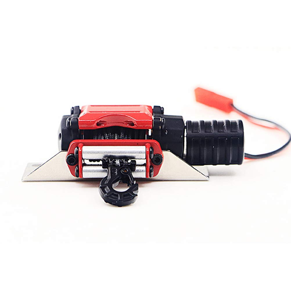Toyvian RC Winch 1/10 Metal Steel Wired Simulated Winch with Switch for Car Rock Crawler by Toyvian (Image #6)