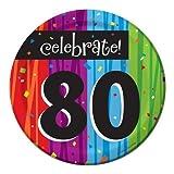 Best Creative Converting Friends Plates - Creative Converting Milestone Celebrations Round Dessert Plates, 24-Count Review