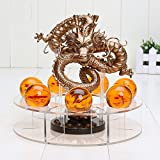 Dragon Ball Z Shenron RARE GOLDEN Action Figure Statue with balls and stand eWD Import