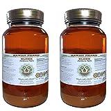 Elder Alcohol-FREE Liquid Extract, Elder (Sambucus Nigra) Dried Flower Glycerite Hawaii Pharm Natural Herbal Supplement 2x32 oz Unfiltered