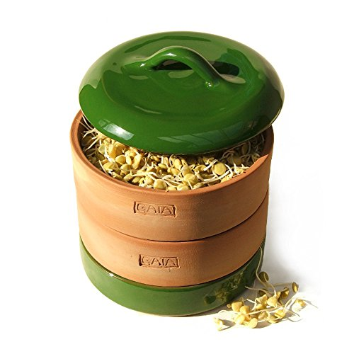 Gaia Sprouter Nutritious Seed Sprouter / Germinator Green ()