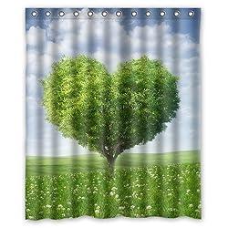 CozyBath Tree of life Waterproof Polyester Fabric 60(w) x 72(h) Shower Curtain