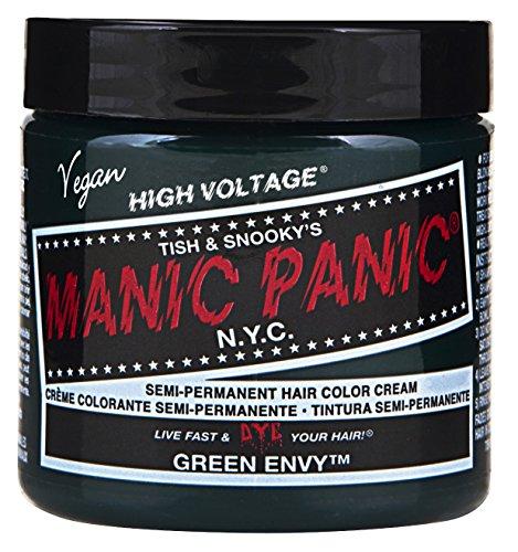 Manic Panic Green Envy Emerald Green Hair Dye 3pk